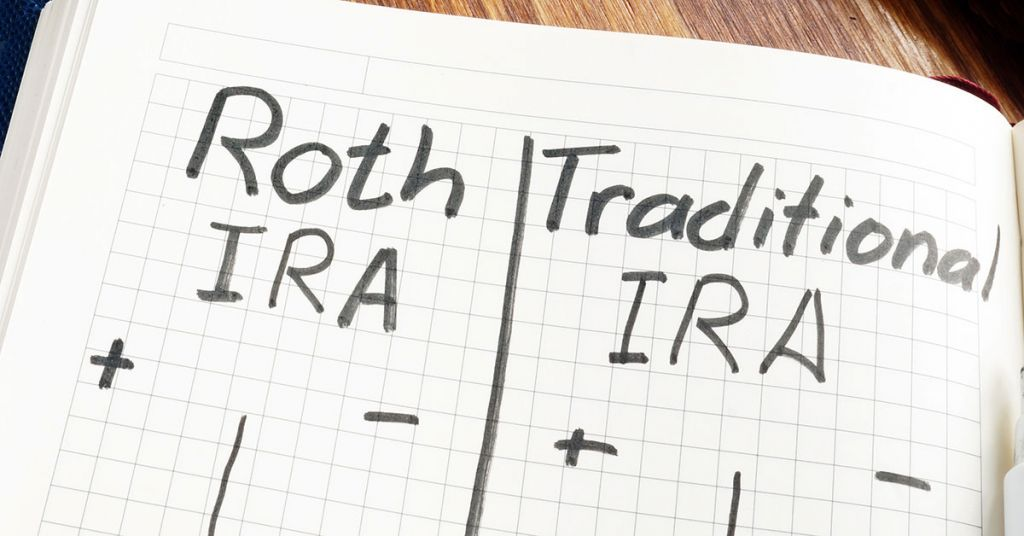 Comparison of IRA and Roth IRA in English