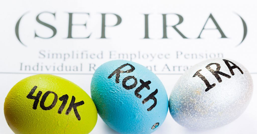 A simplified employee pension compared to other IRA plans