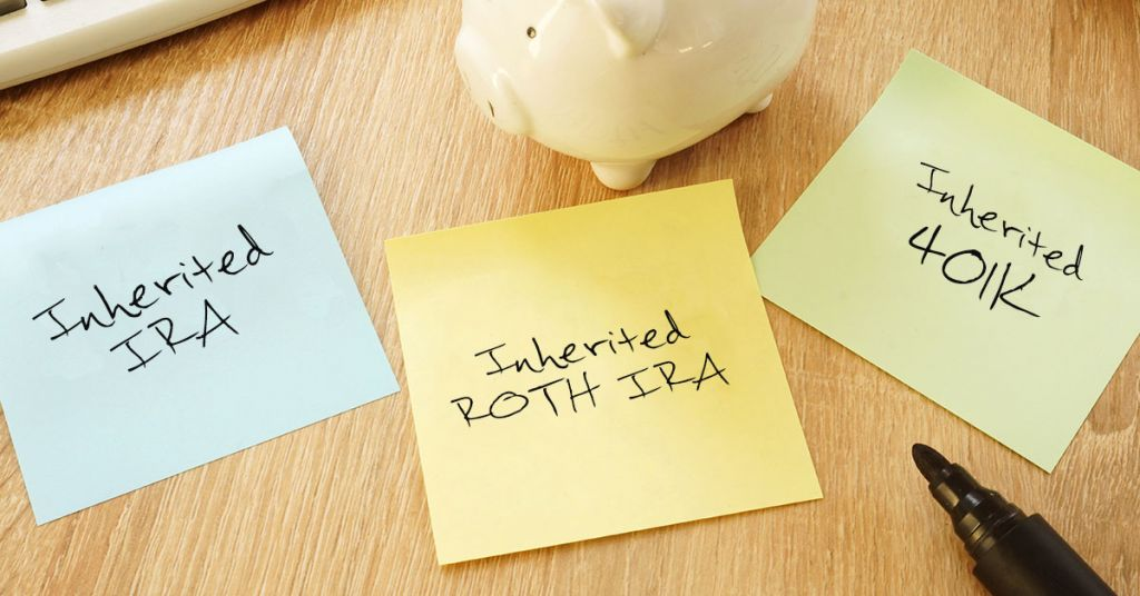 Taxes on inherited IRAs, inherited Roth IRAs and inherited 401ks