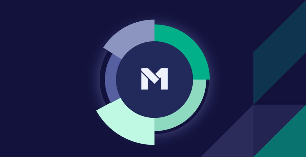 M1 header with logo inside M1 pie