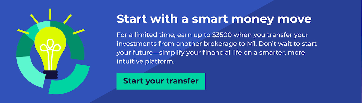 Start with a smart money move, transfer to M1