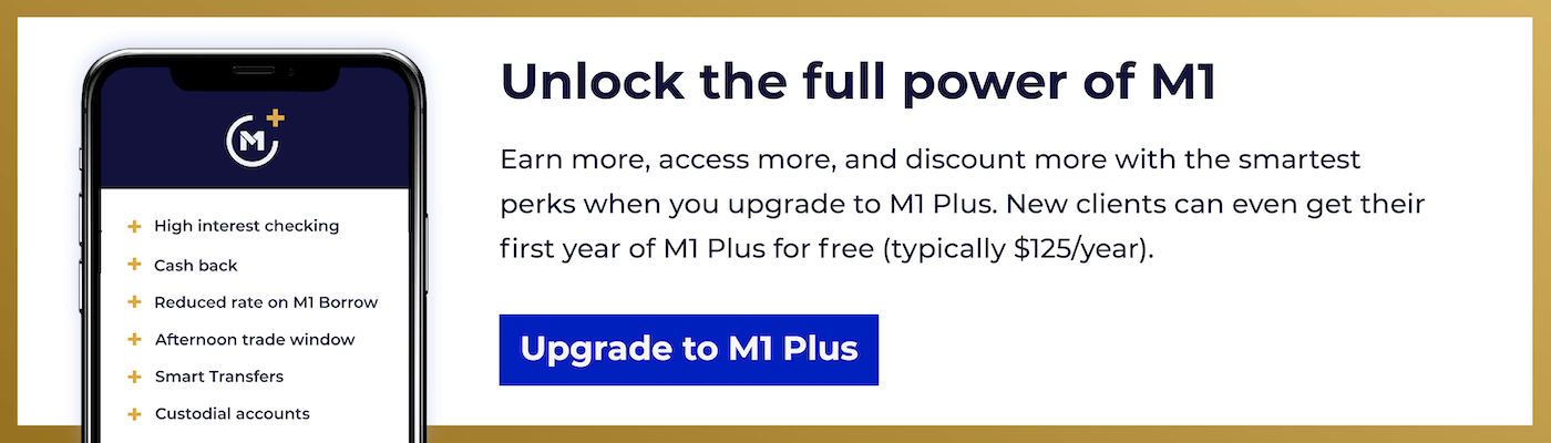 Unlock the full power of M1 with M1 Plus