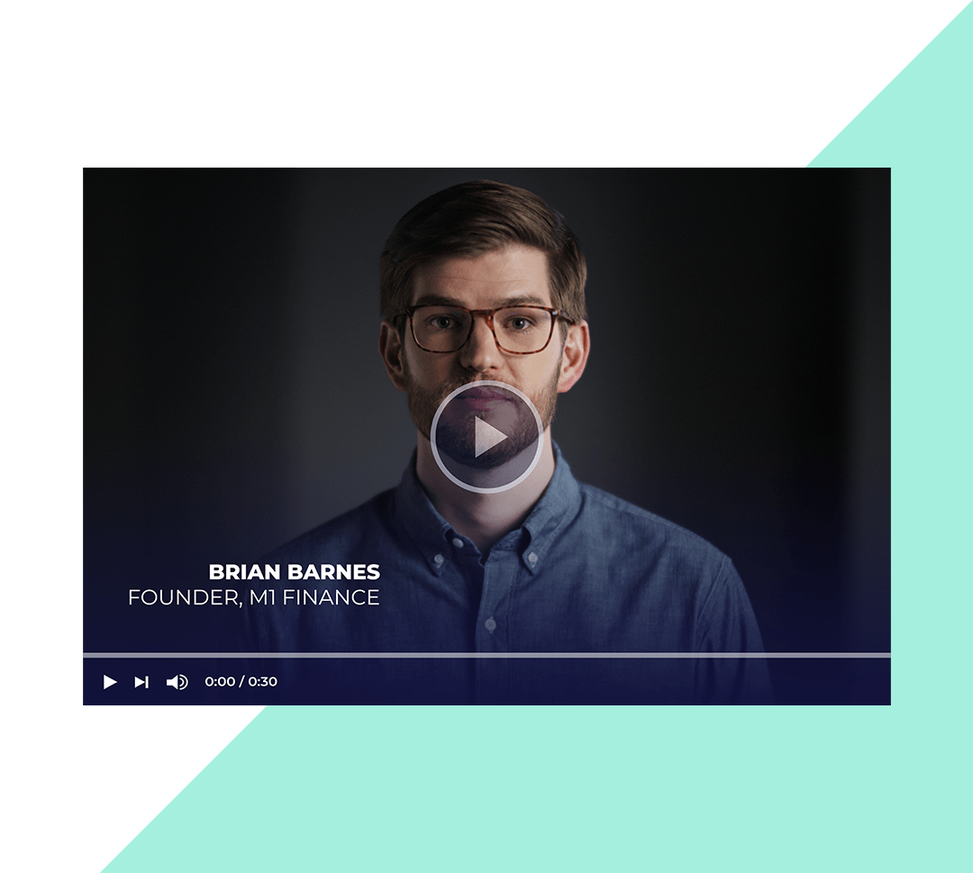 Thumbnail of video of message from founder & CEO, Brian Barnes.