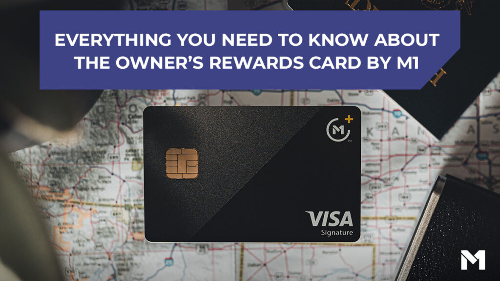Picture of the credit card with the title