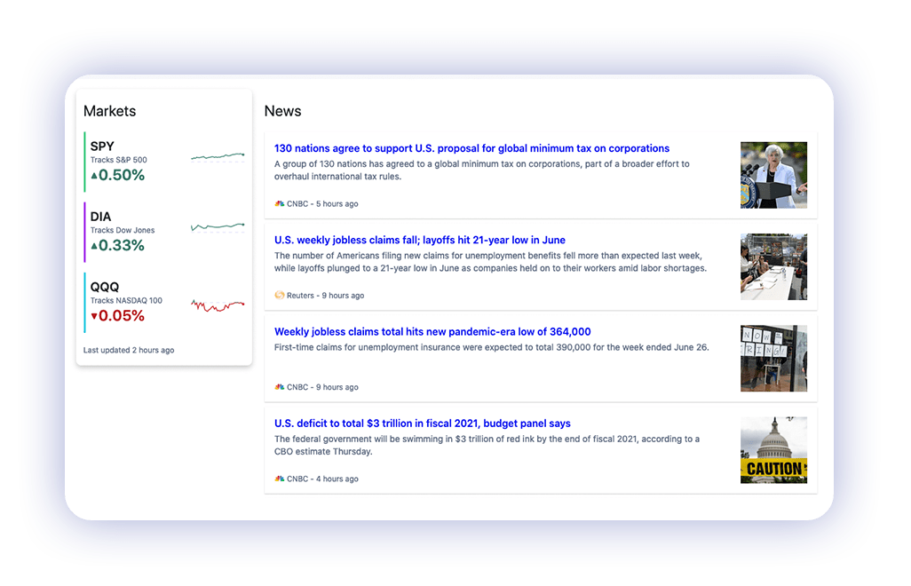 M1 research tab on web