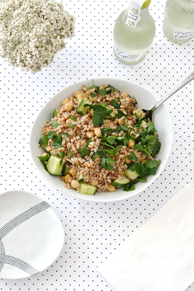 Master the Quick Healthy Lunch: Farro Salad