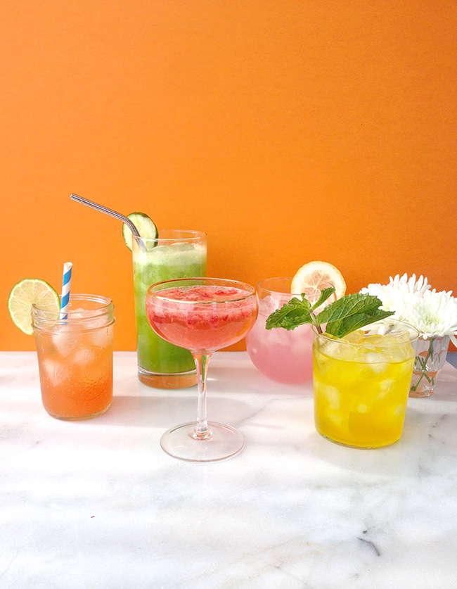 3-Ingredient Cool-Down Summer Cocktails