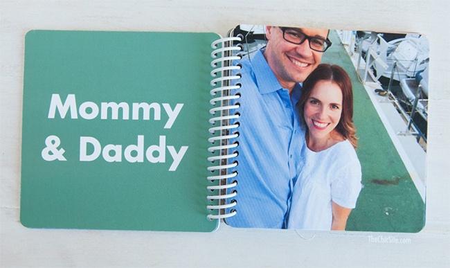 our favorite mini books custom board book adoption gift
