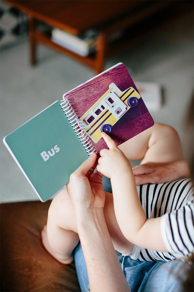 our favorite mini books custom board book for baby s first words