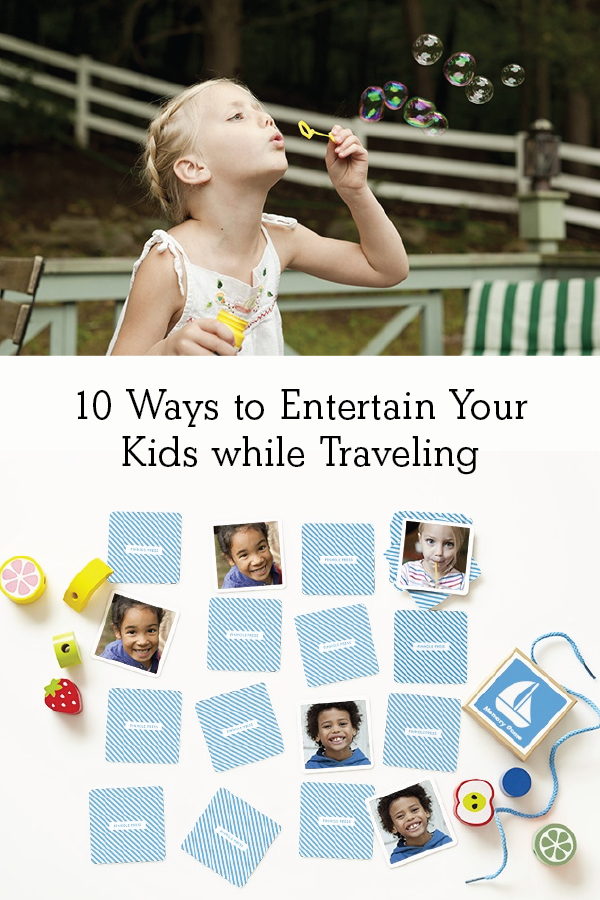 10 Ways to Entertain Your Kids while Traveling