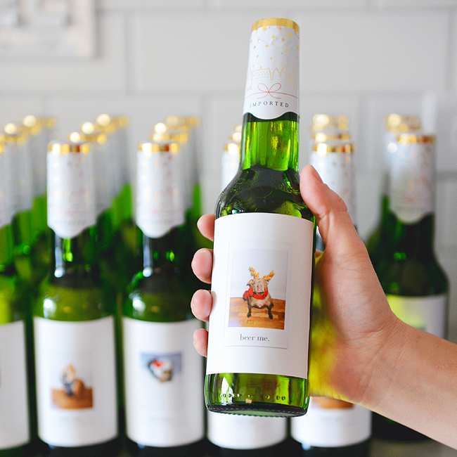 How to Apply Custom Beer and Wine Labels