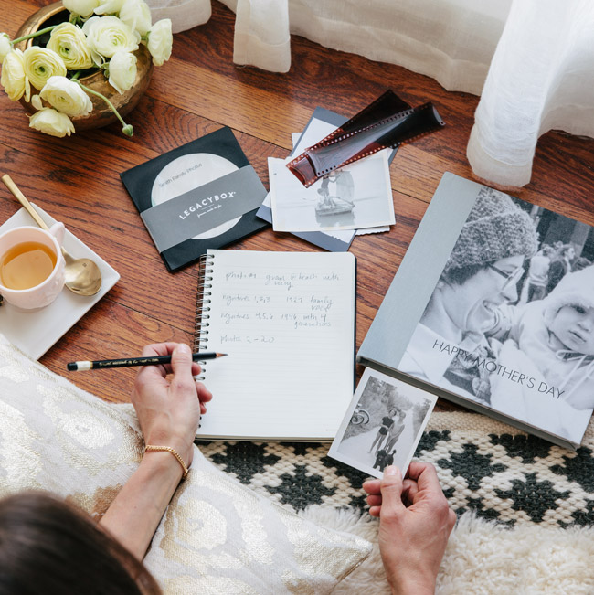 Mother's Day Giveaway: Turn Old Family Photos into a Keepsake Photo Book