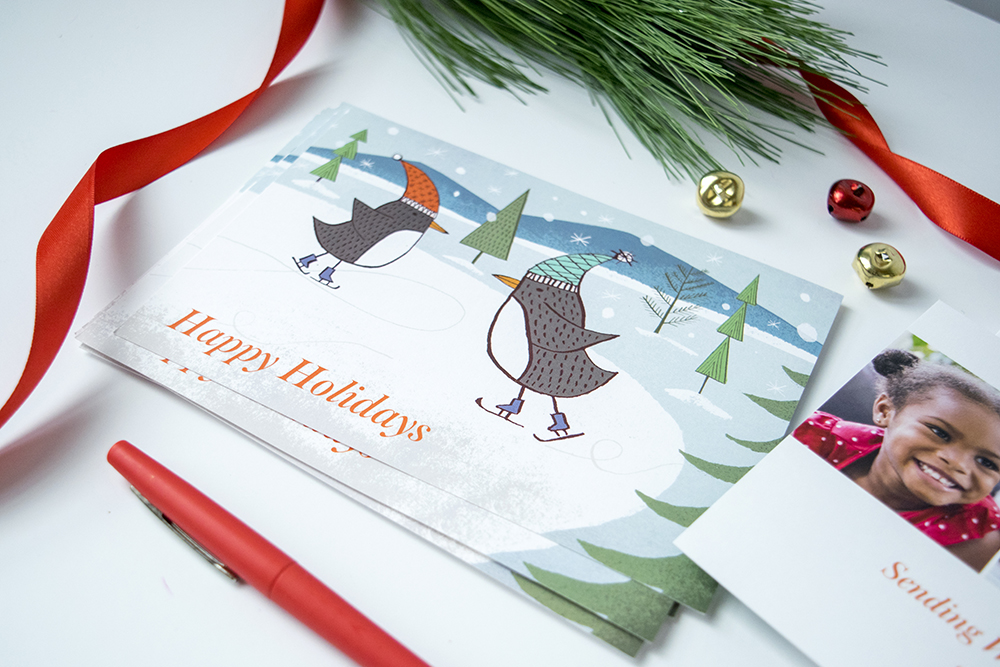 New Custom Designer Holiday Card by Jon Cannell