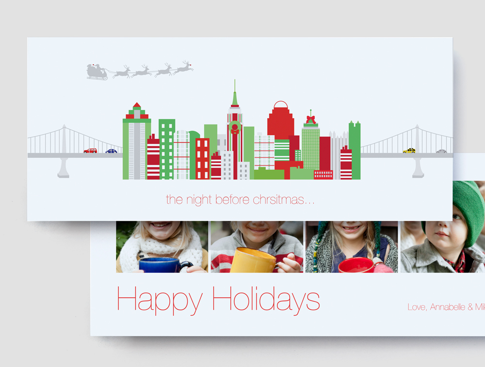 New Custom Designer Holiday Cards by Sarah Selby