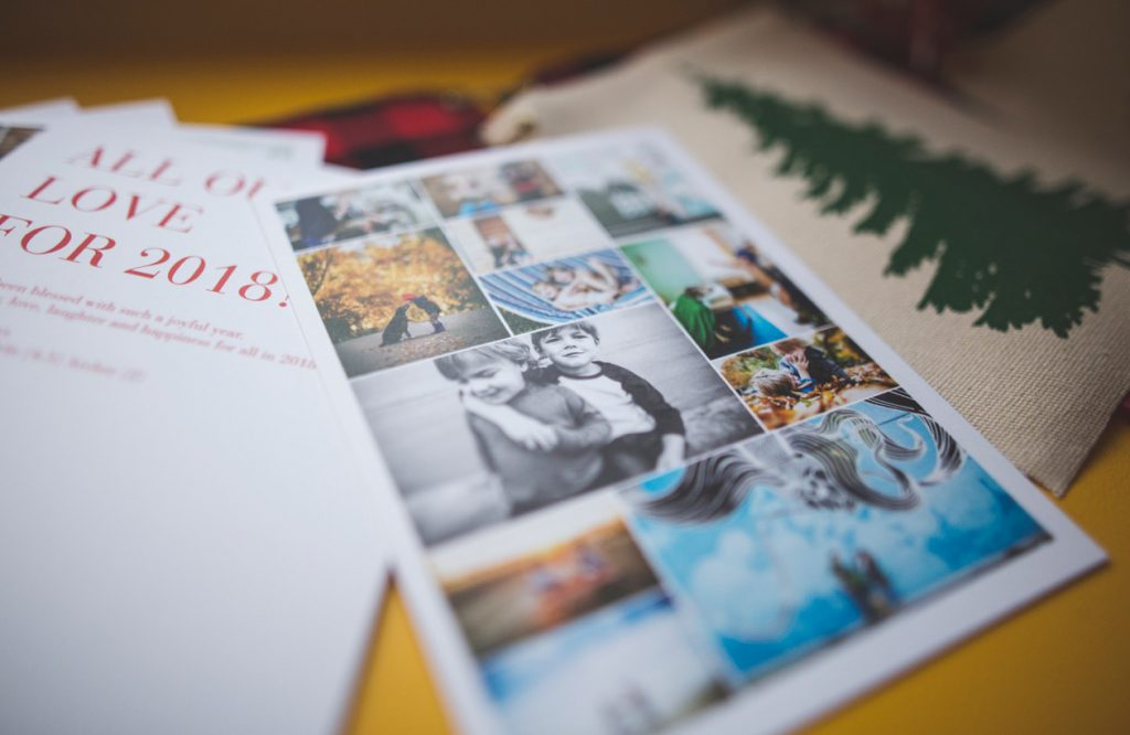 Pinhole Press All Our Love Collage Holiday Photo Card