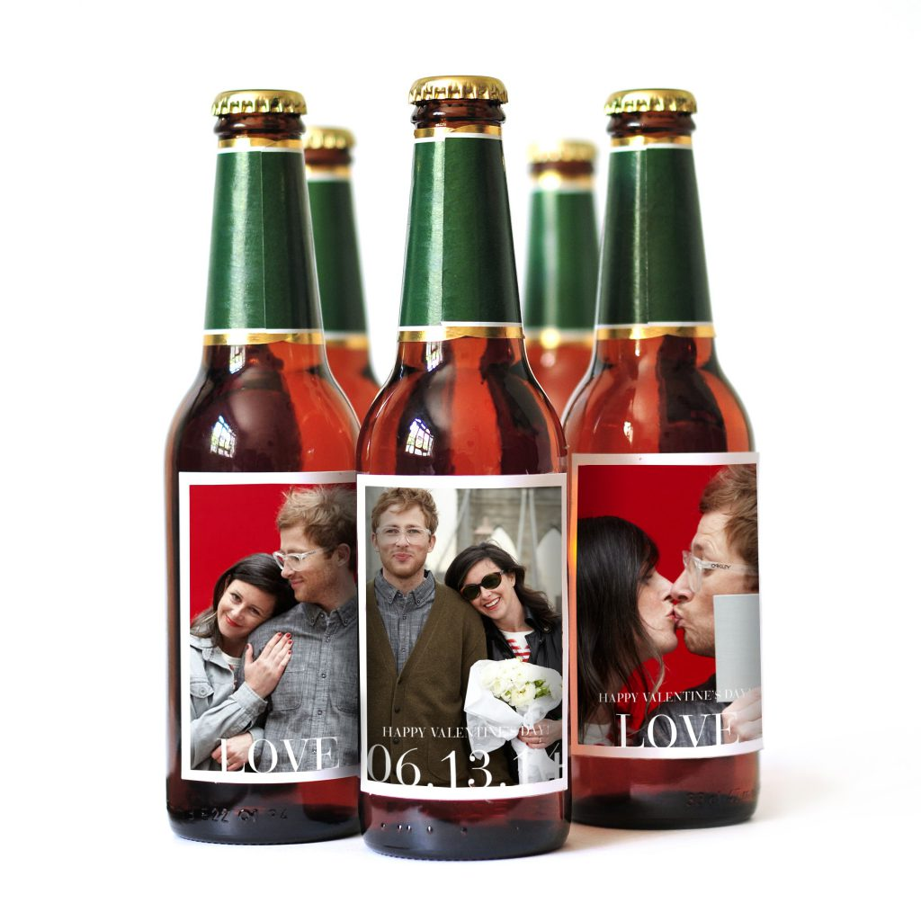Pinhole Press Custom Photo Beer Labels