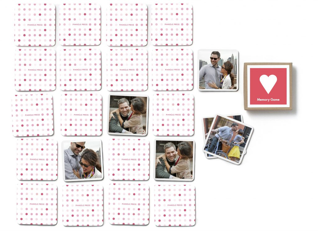 Pinhole Press Custom Photo Memory Game