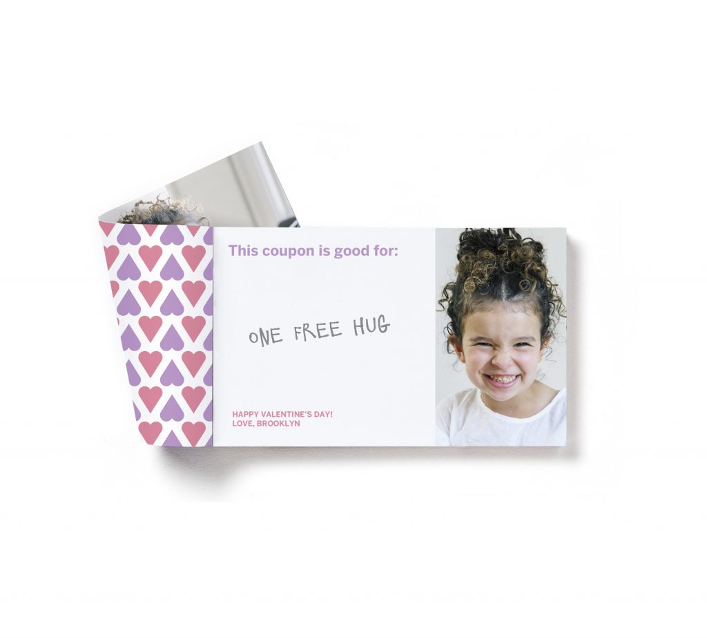 Pinhole Press Custom Love Coupons for Kids