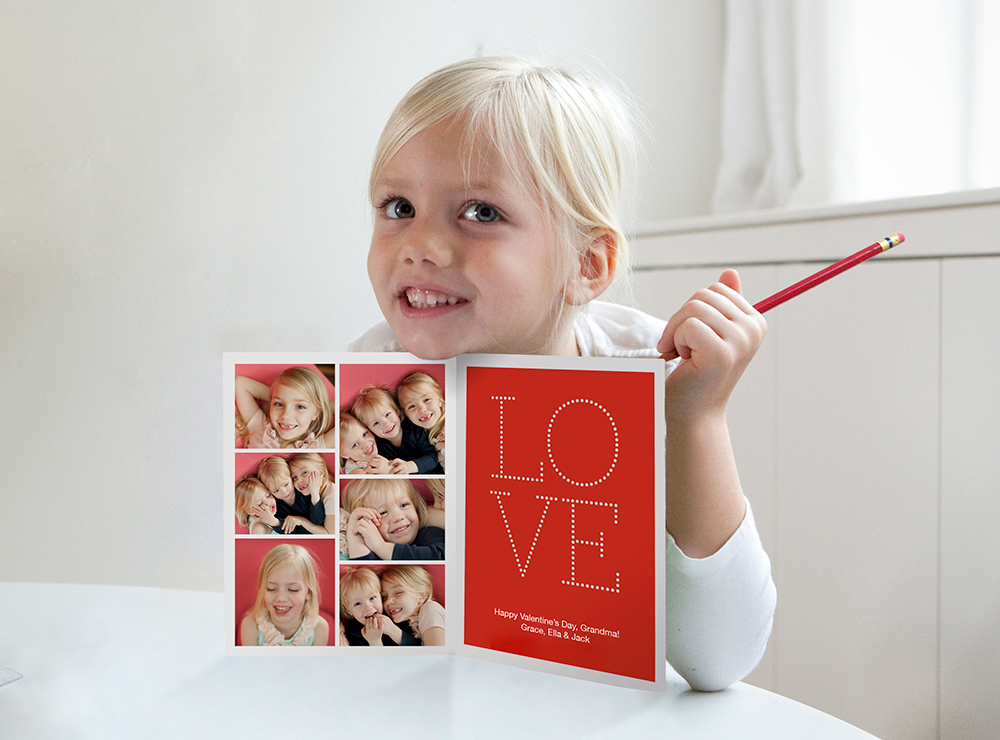 Pinhole Press Custom Photo Valentine's Day Cards