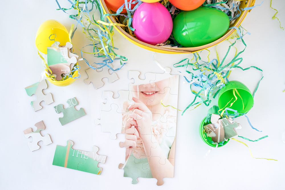 3 Sugar-Free Easter Egg Hunt Ideas - Photo Puzzle