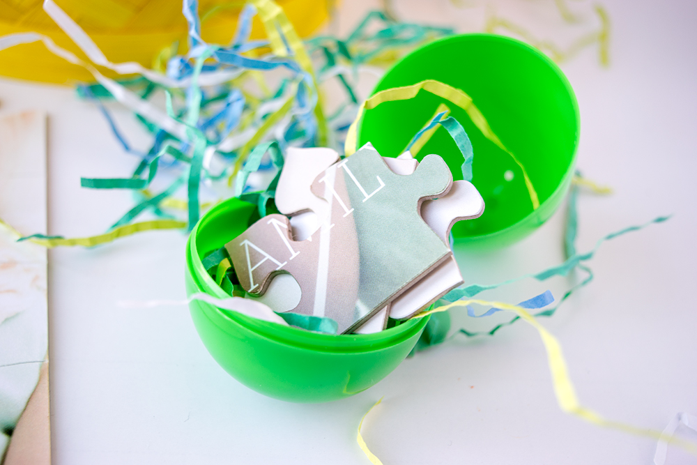 3 Sugar-Free Easter Egg Hunt Ideas - Puzzle PIeces