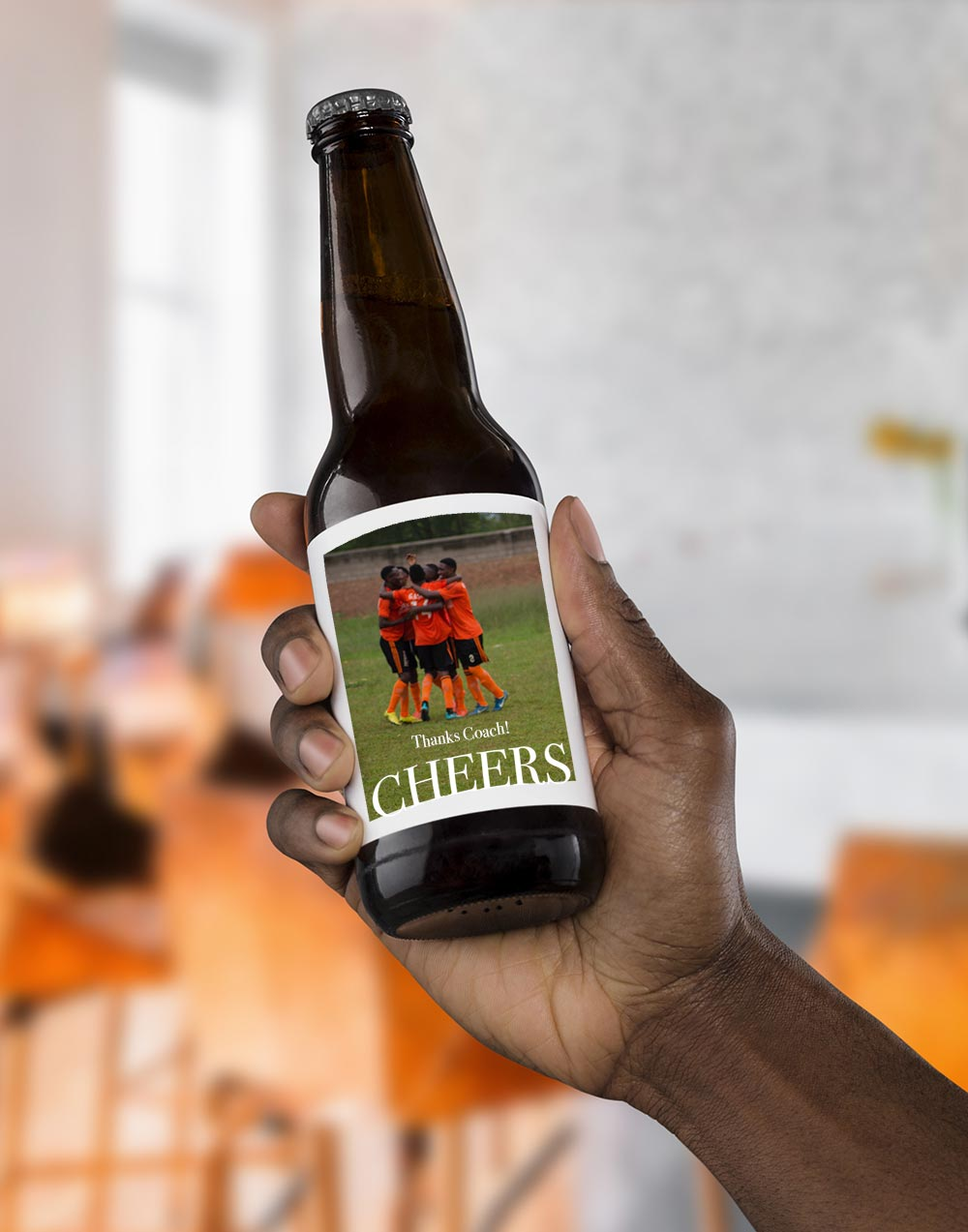 Coach Gift: Beer Labels