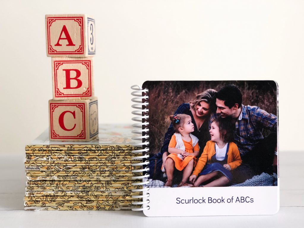 New ABC Board Book by Stephanie Scurlock