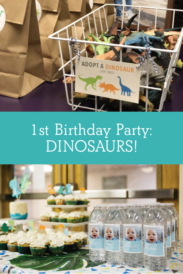 1st Birthday Party: Dinosaur Theme