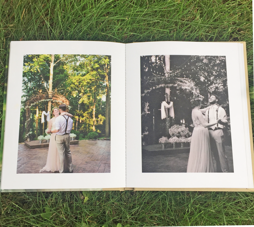 Wedding Photo Album by Pinhole Press