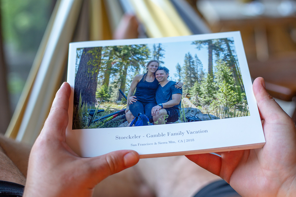 How to create a travel photo book