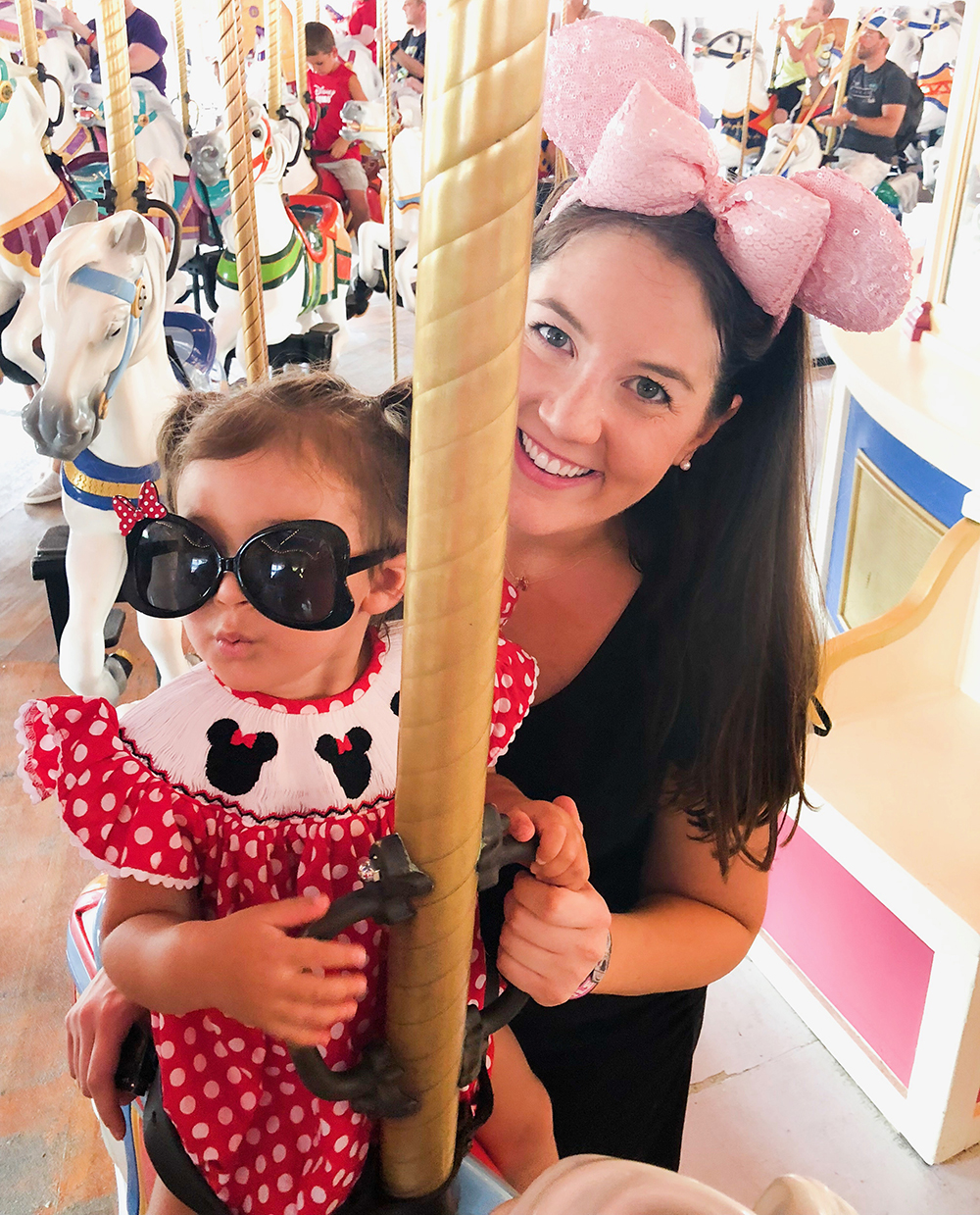 How to have a Magical Day At Disney - carousel ride