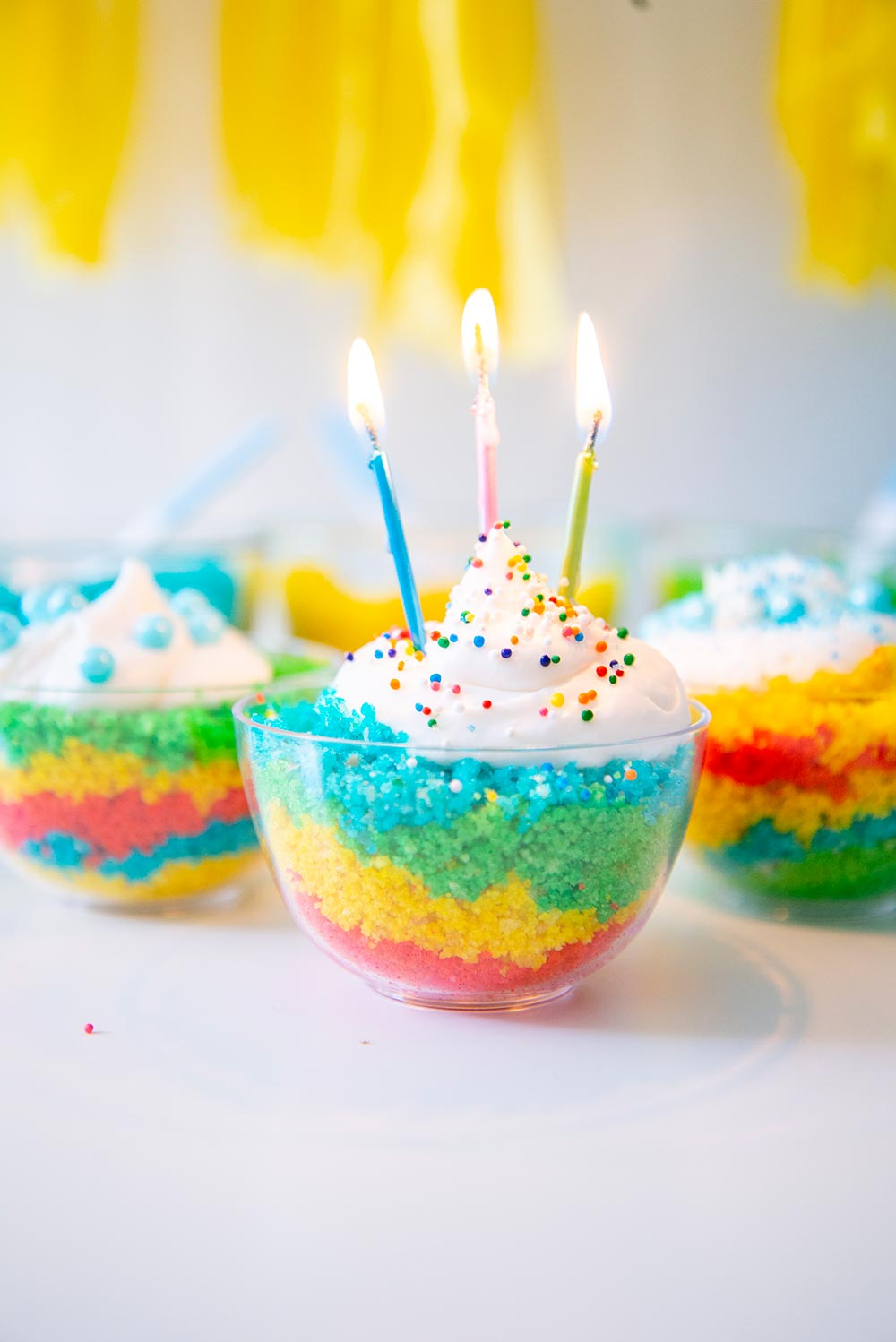 DIY Birthday Cake Bar For Kids