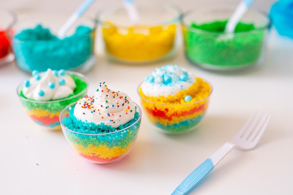 DIY Birthday Cake Bar for Kids