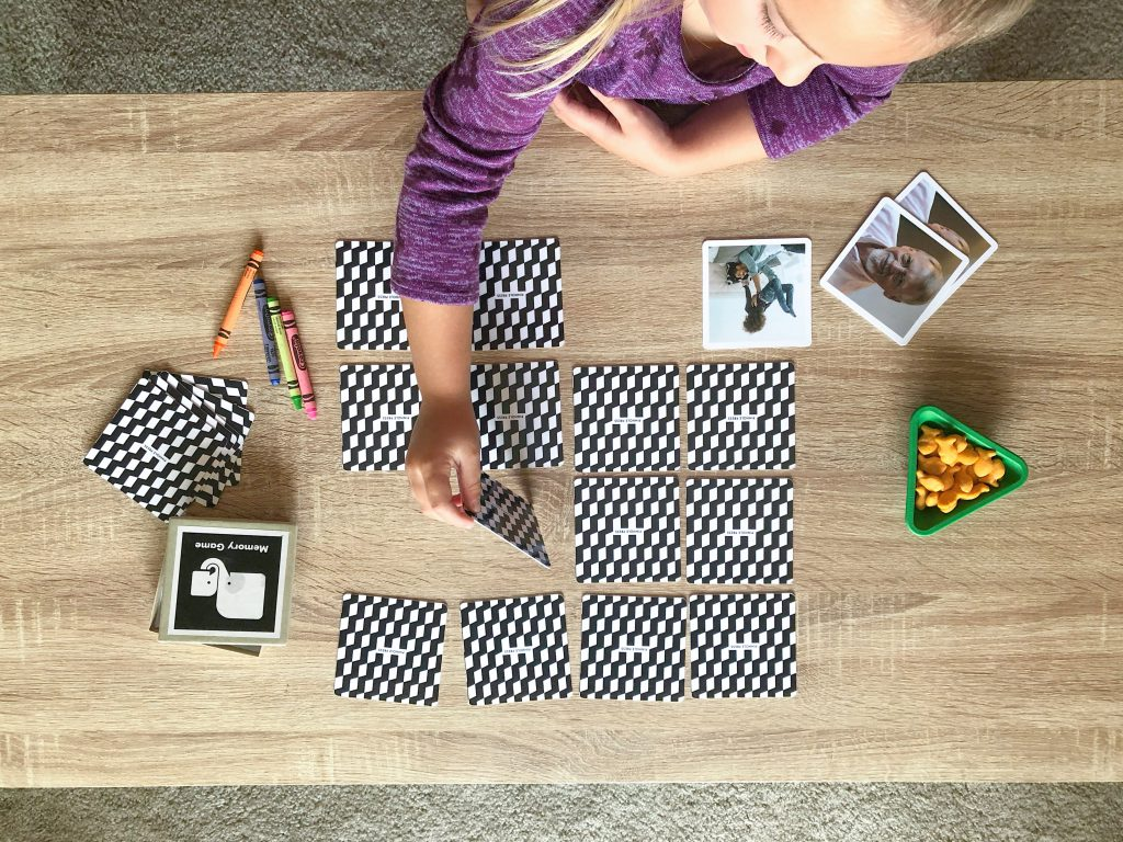 Ways to play with your photo memory game
