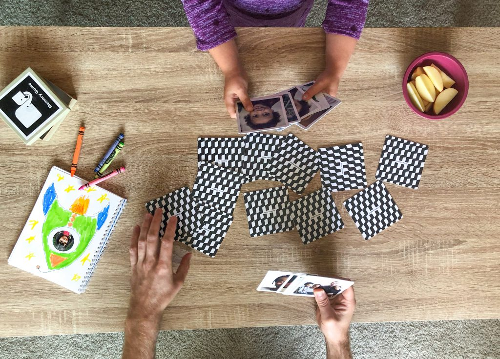 Play Go Fish with your Photo Memory Game