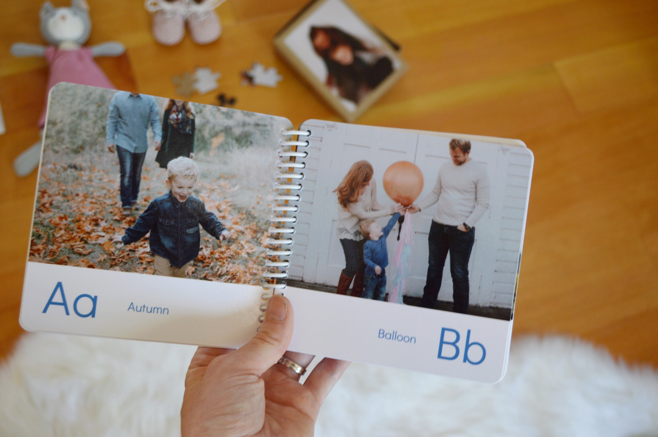 Custom Photo ABC Board Book Review
