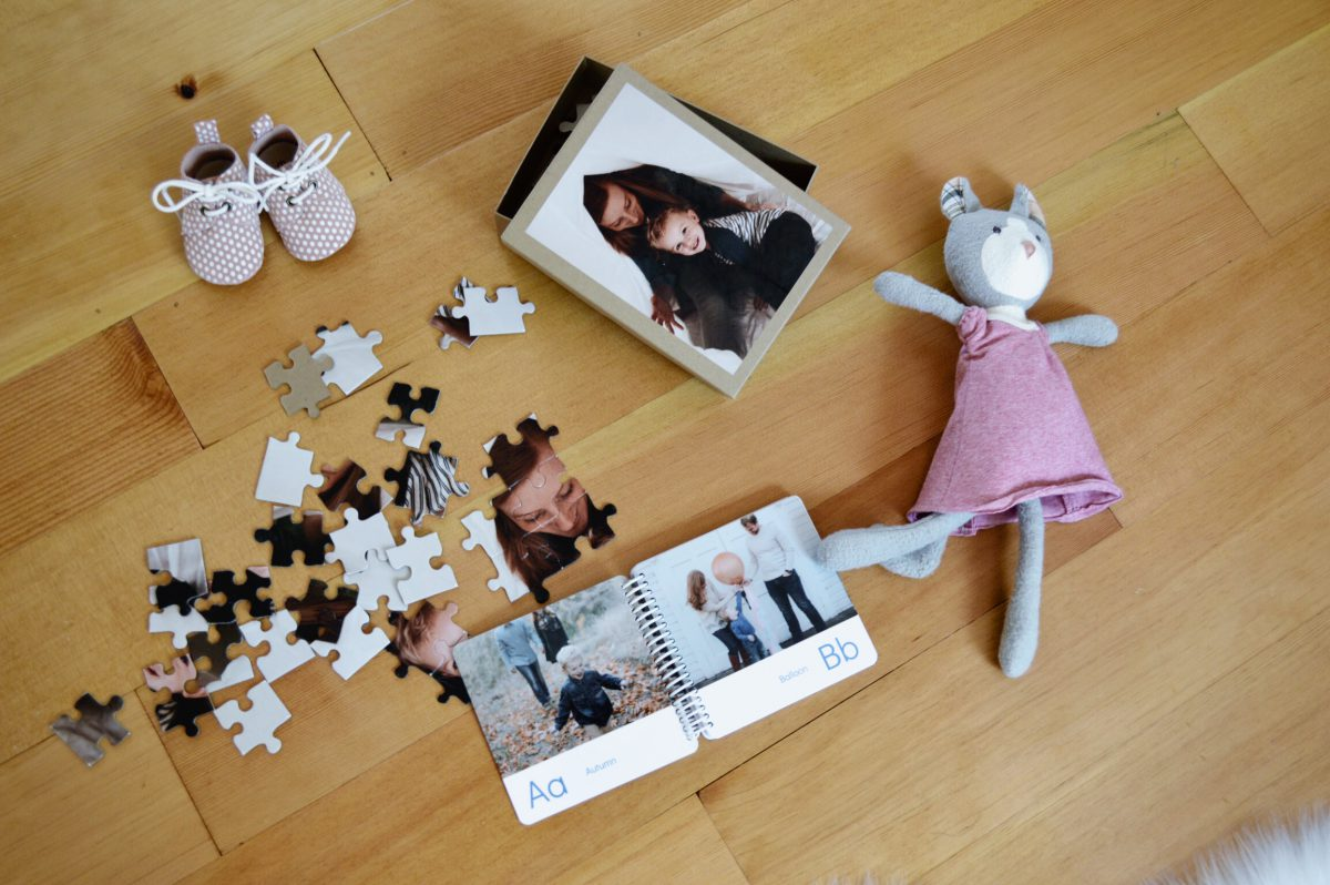 Documenting Life in Photo Gifts for Kids