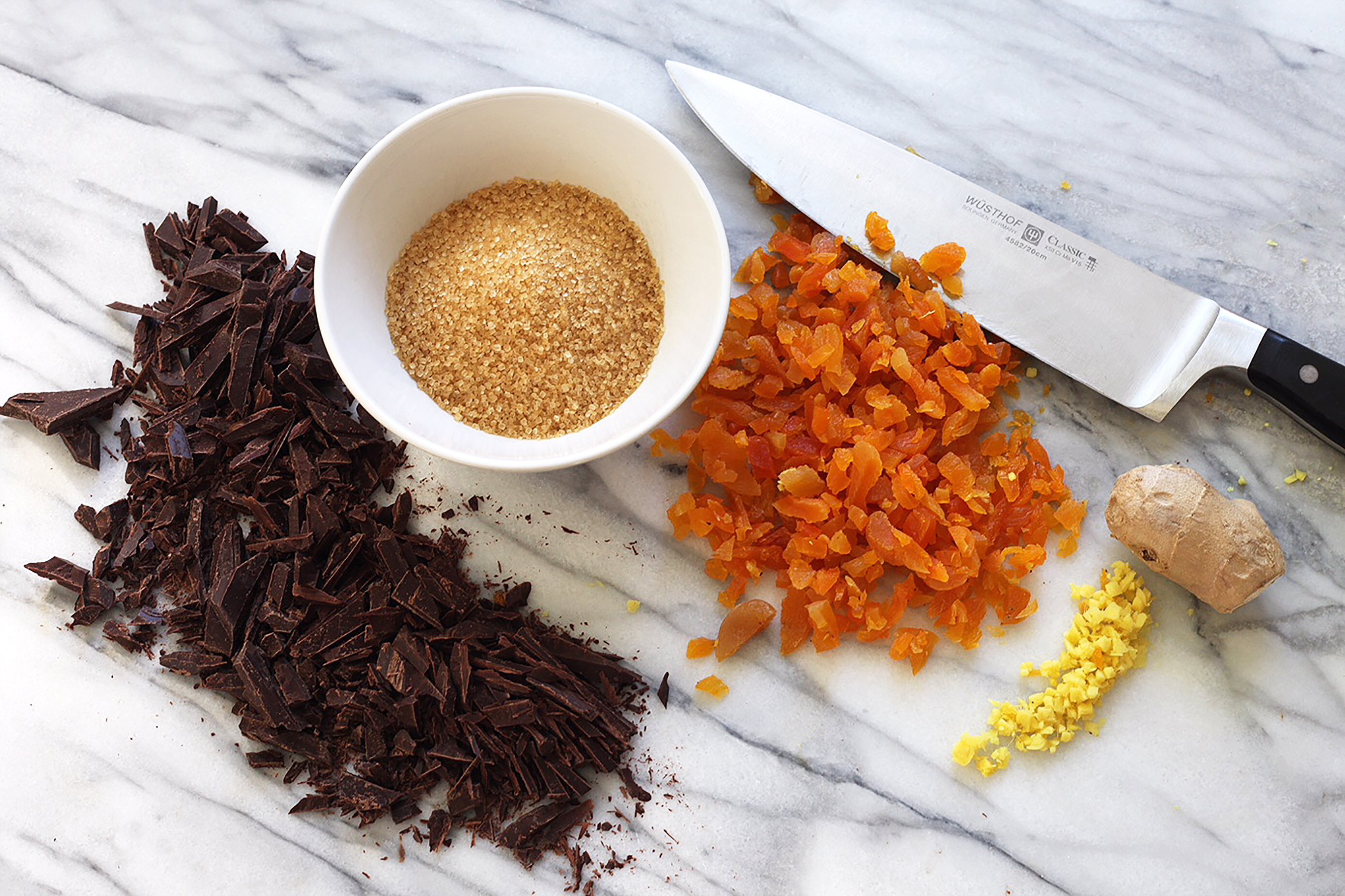 Ingredients for Holiday Ginger Cookies