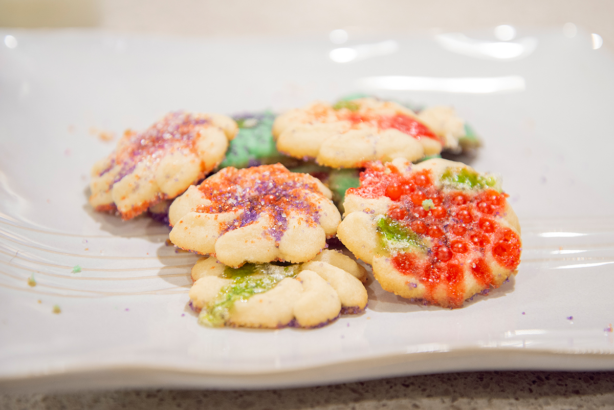 Holiday Spritz Cookie Press