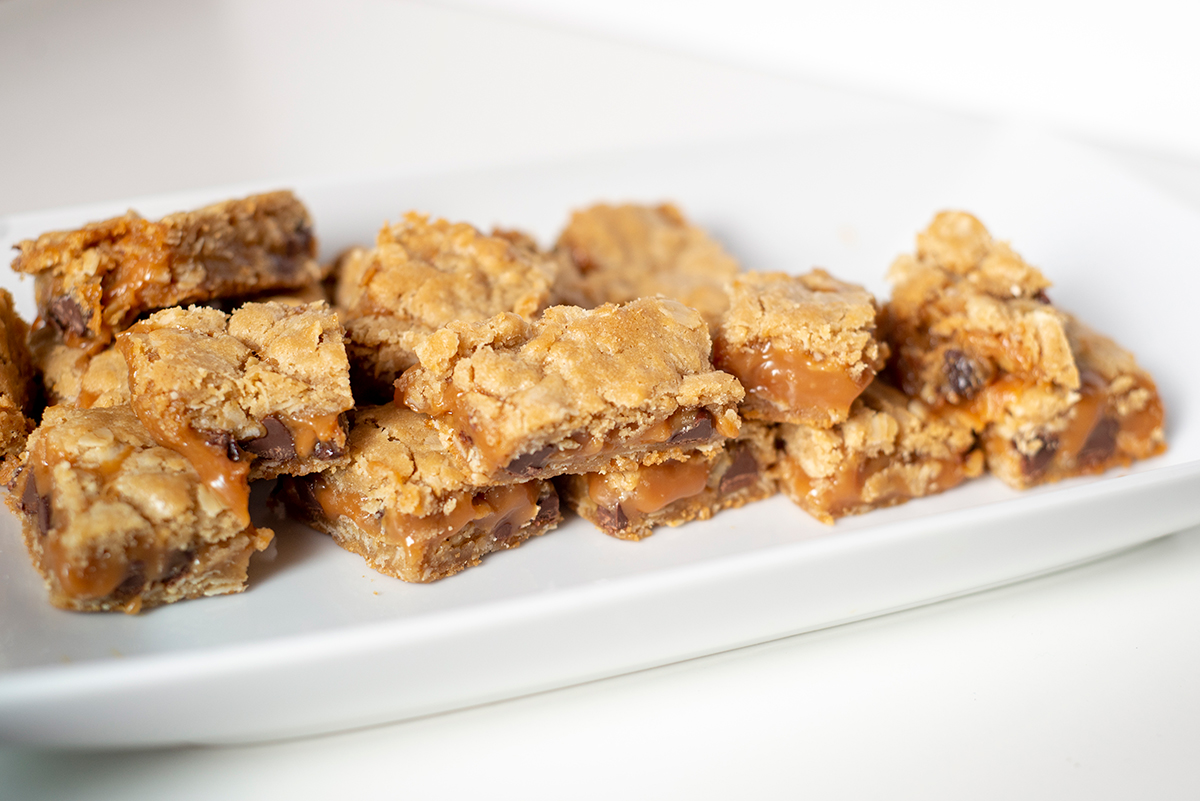Carmelita Cookie Bars For Holidays