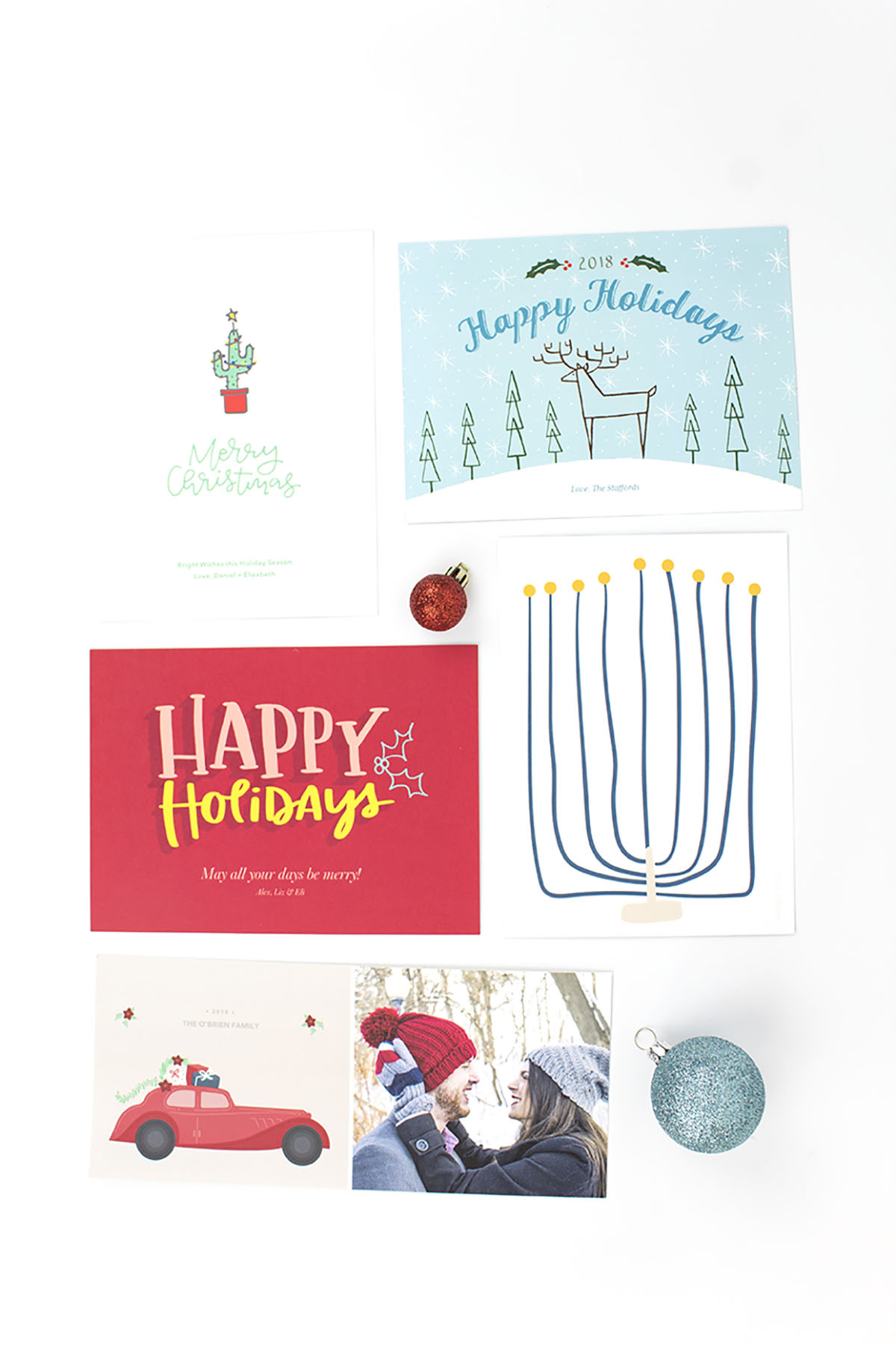 Holiday Card Scrapbook