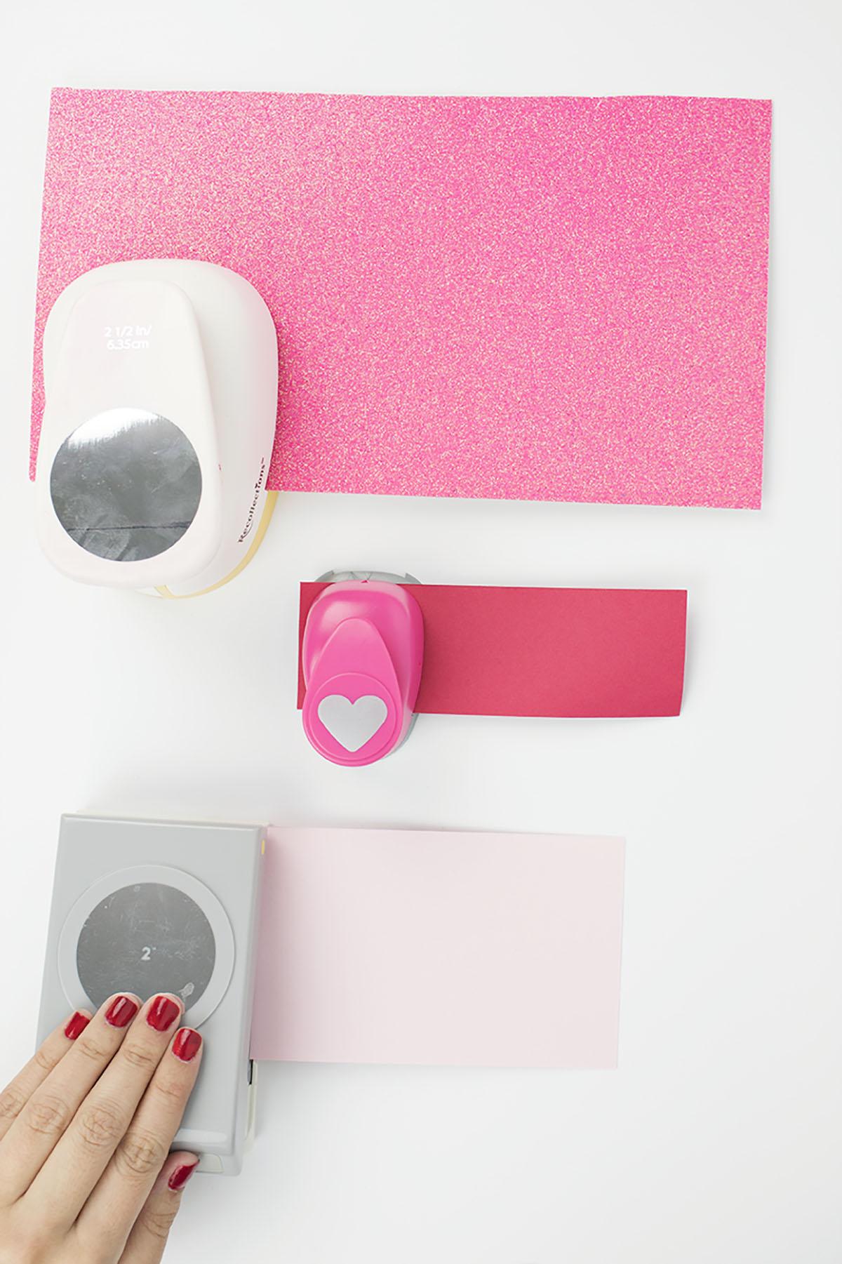 Valentines-Polaroid-Hole-Punching