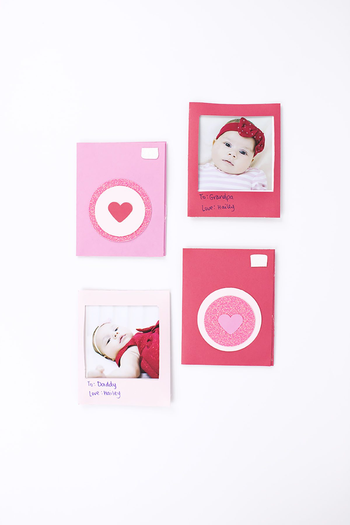 DIY Polaroid Valentine