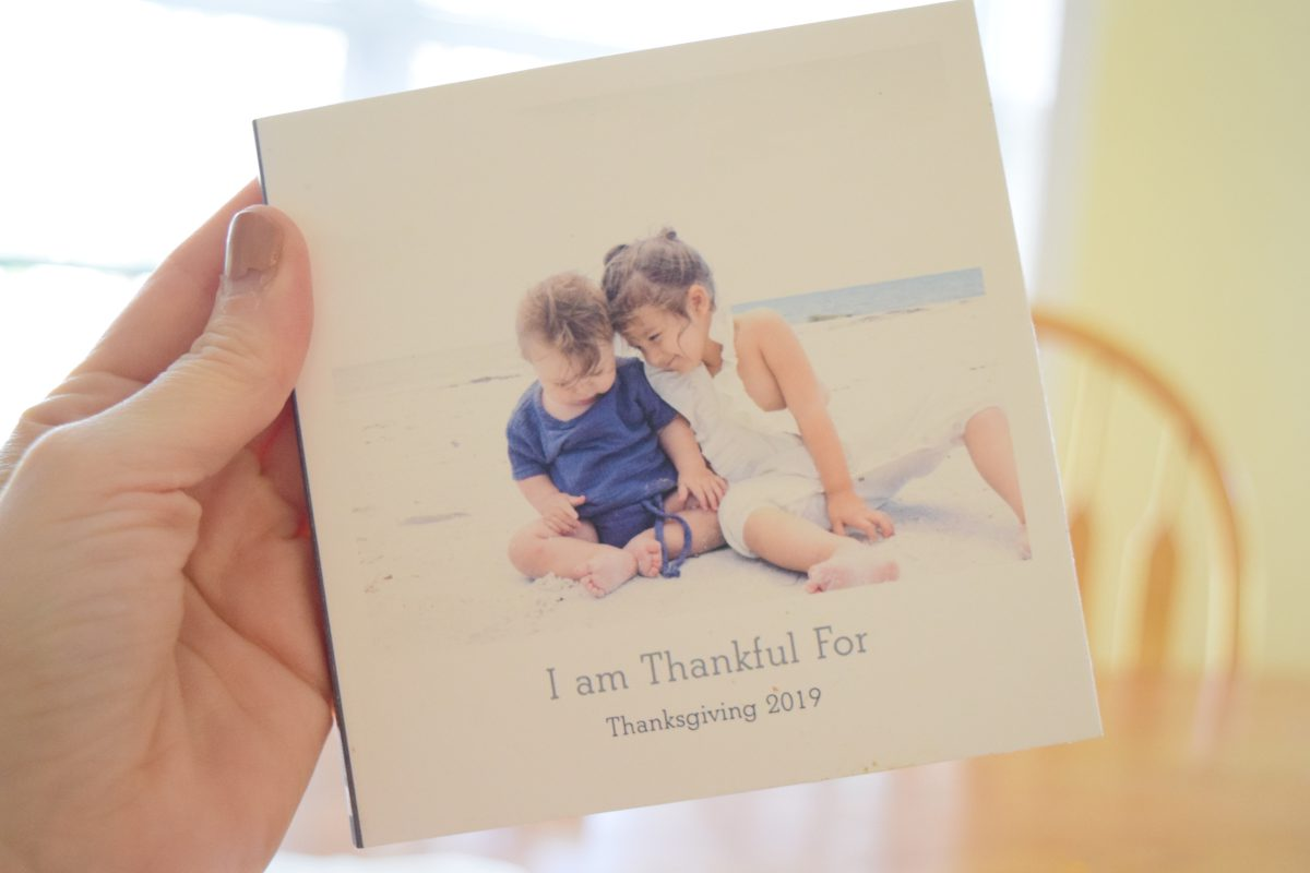 "Showing Gratitude with an ""I'm Thankful For"" Book"