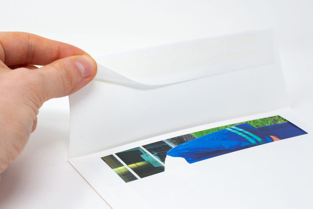 self adhesive envelopes for Pinhole Press photo cards