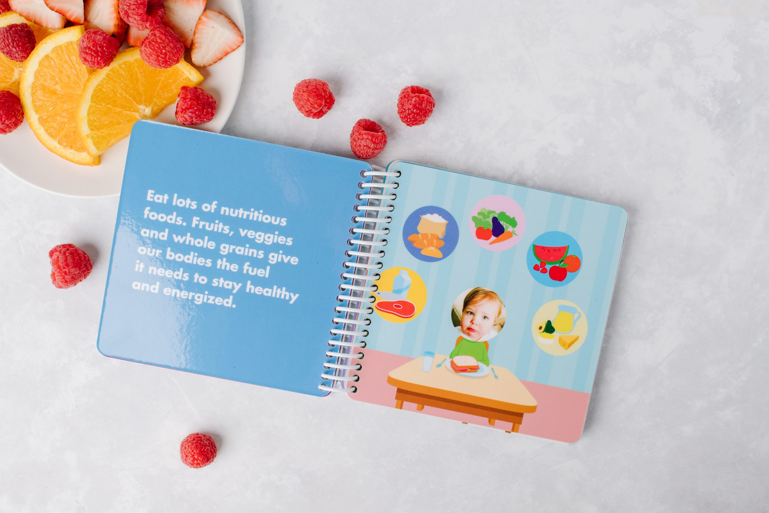 Kids Board Book of Healthy Habits