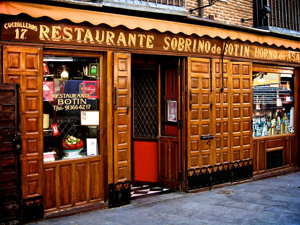 Restaurante Botin | foto: Divulgação