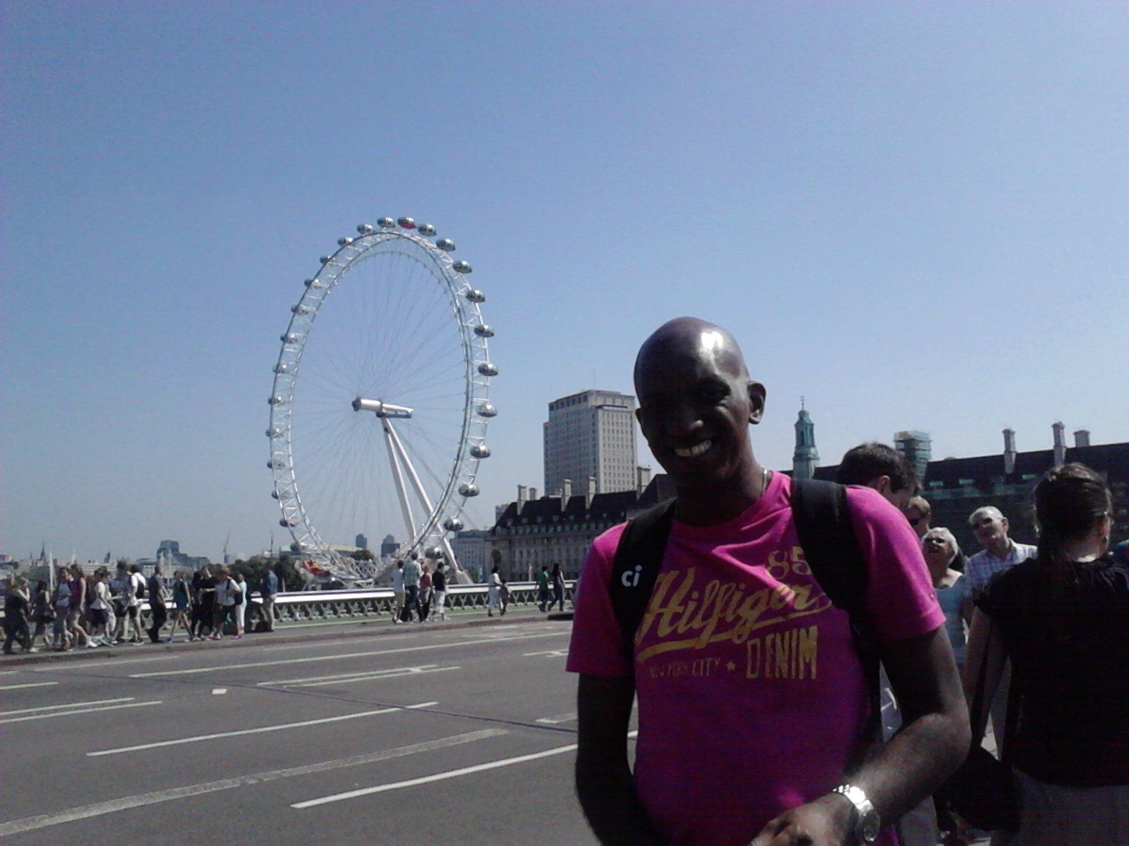 Um belo e quente dia de sabado em Londres!