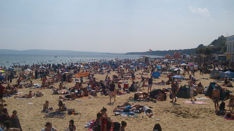 Praia de Bournemouth