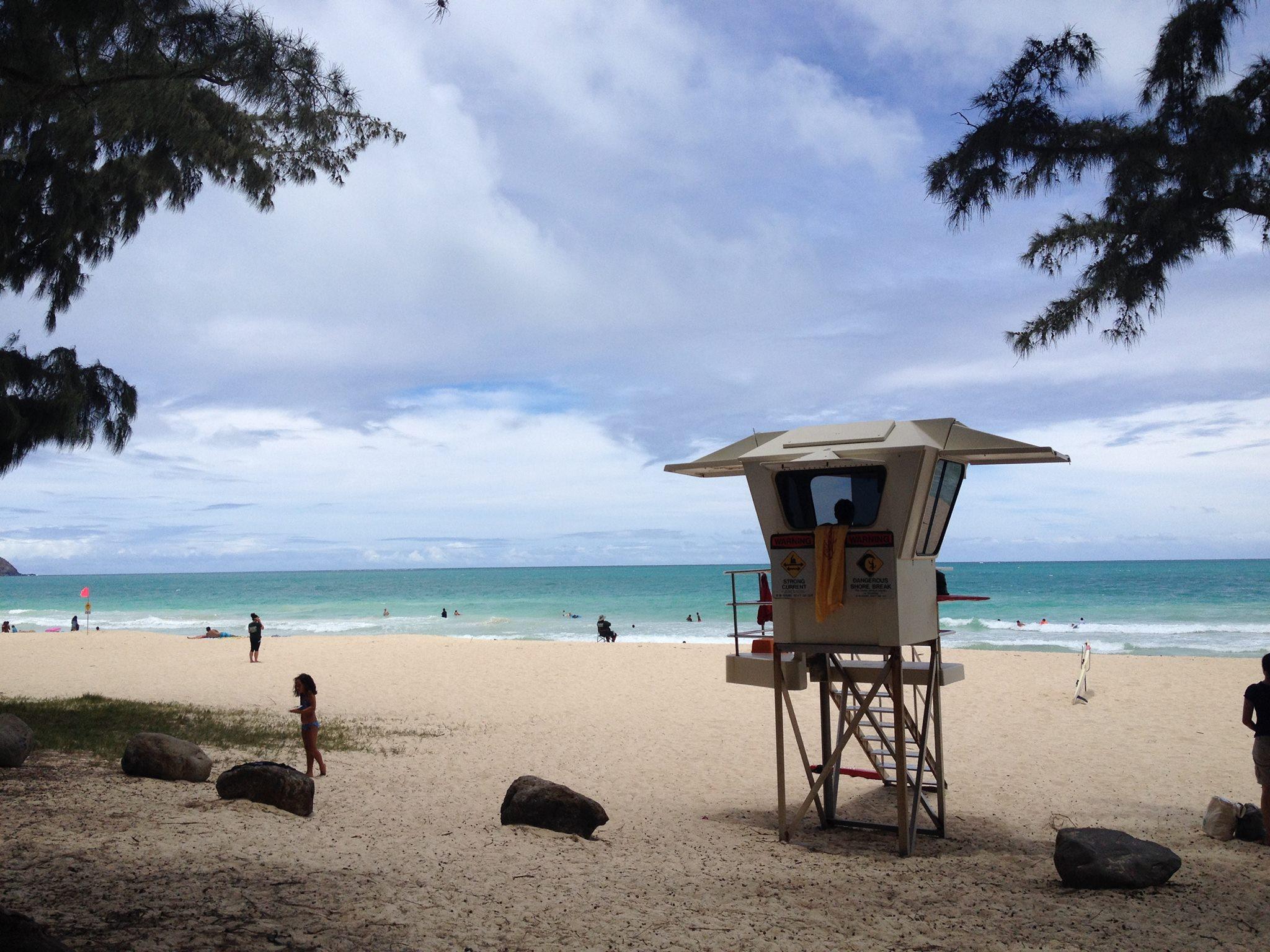Bellows Beach overview